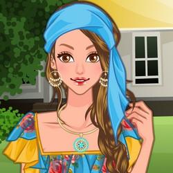 Dress up fashion make up games